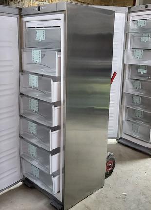Морозильная камера Либхер Liebherr GNes 2866 8 ящ нержавейка