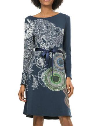 Новое (с этикеткой) яркое очень удачное платье от desigual, ра...