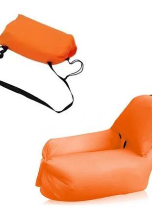 Ламзак надувной с подушкой Матрас мешок диван кресло AIR Sofa 4