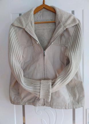 Брендова Кожана куртка весна-осінь