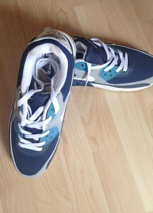 Женские/мужские кроссовки Nike Air Max синие