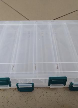 Коробка для снастей двусторонняя 20*17*4.7см