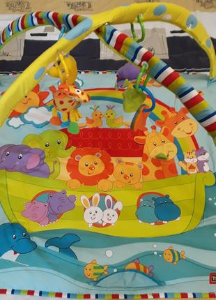 Музыкальный развивающий детский коврик Tiny Love