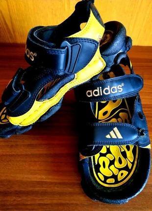 Сандалии спортивные adidas кожаные 👟 унисекс сандали