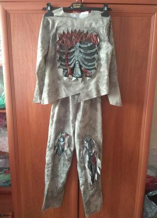 Костюм карнавальний зомбі,на 6-8 років