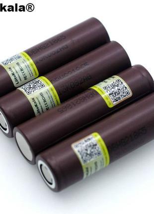 Аккумулятор 18650 высокотоковый LI-ION 3.6В 3000МАЧ 35А LIITOK...