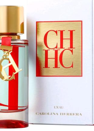 Туалетная вода Carolina Herrera CH L'Eau + (подарок)