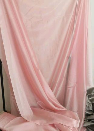 Тюль гардина штора тканина ткань вуаль шифон