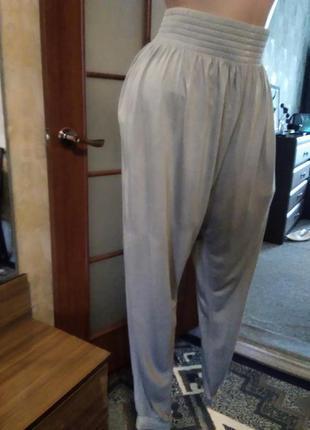 Симпатичные летние брюки, спортивного стиля, большого размера