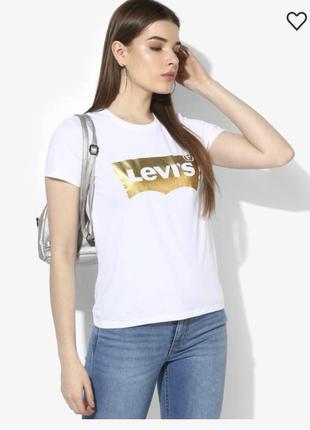 Футболка стильная модная levi's