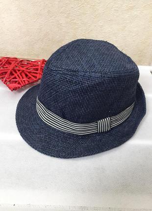 Стильная детская плетеная шляпа