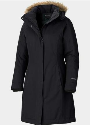 Пальто marmot chelsea coat, пуховик, пуховое пальто, куртка, д...