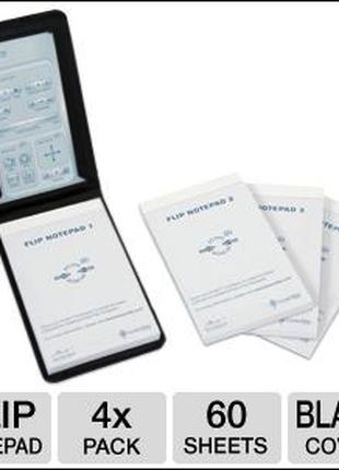 Блокнот Livescribe Flip Notepad, 4-Pack ANA-00037