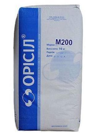 Метилкремнезем, аеросил гідрофобний, пірогенний М200, АМ 1-200