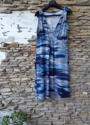 Очень классное вискозное платье большого размера