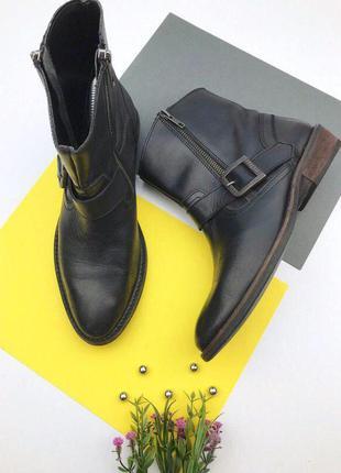 Кожаные ботинки казаки от firetrap