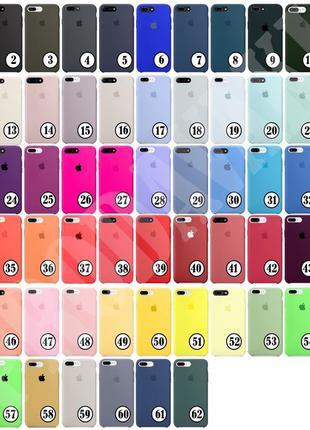 Чехол silicone для iphone 5 5s SE 6 s plus 7 8 plus X XS XR 11...