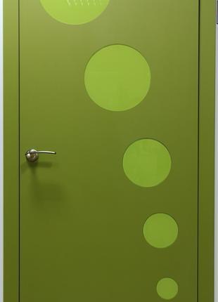 Дверь межкомнатная цвет Лайм