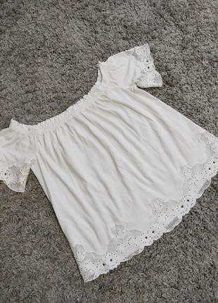 Натуральная блуза леля next