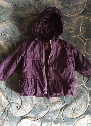 Осенне весенняя  курточку на девочку в идеальном состоянии