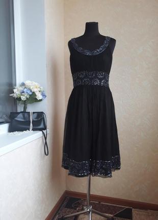 Шикарное нарядное платье adrianna papell