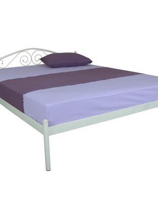 Кровать металлическая ALBA 1600x2000 beige