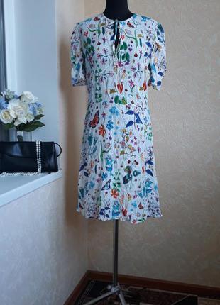 Платье в яркий принт next