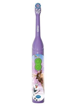 Детская электрическая зубная щетка Oral-B, frozen OLAF