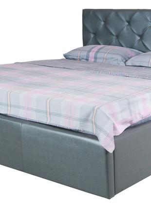 Двуспальная кровать BRIZ lift 1600x2000 grey подъемный механизм