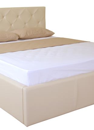 Двуспальная кровать BRIZ lift 1600x2000 beige подъемный механизм