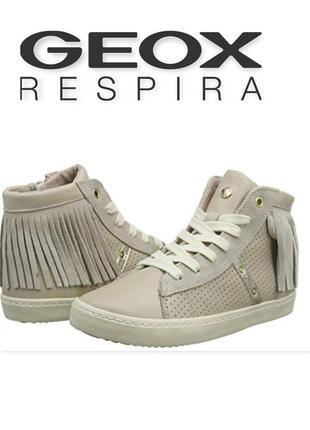 Geox ботинки полуботинки демисезонные для девочки оригинал италия