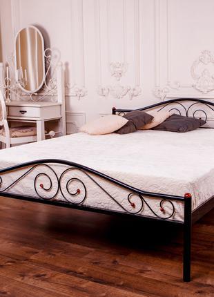 Двуспальная кровать POLO 1400x2000 black