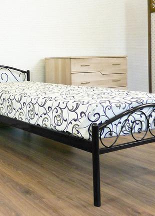 Металлическая кровать POLO 900x2000 black