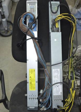 Блок питания 2250/2450Вт HP C7000 (лыжа) под ASIC и Фермы
