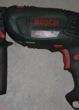Дрель ударная Bosch PSB 650 RE оригинал