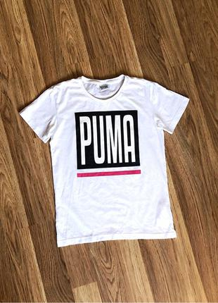 Футболка Puma Box Logo t-shirt(nike,adidas,fila,reebok)
