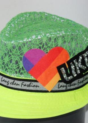 Шляпа,панама детская likee