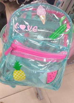 Рюкзак детский, рюкзак для девочки, силиконовый рюкзак, рюкзак...