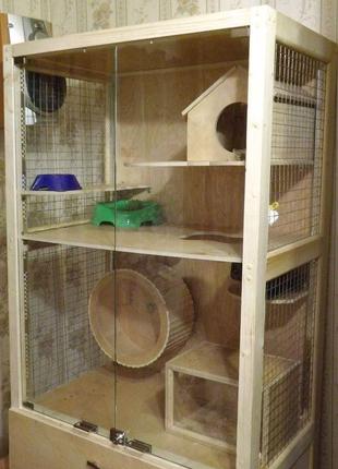 Клетки для грызунов и попугаев.