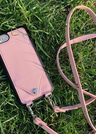 Чехол на ремешке сумочка на айфон iphone SE 2 2020 6 6s 7 8 НОВЫЕ