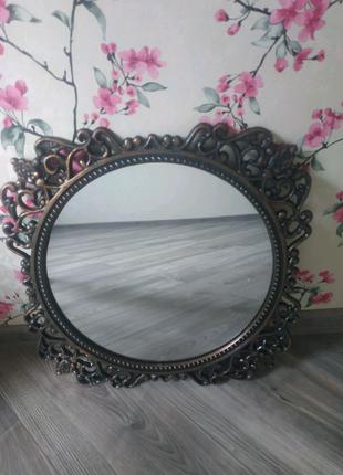 Зеркало настенное, винтажное,ссср
