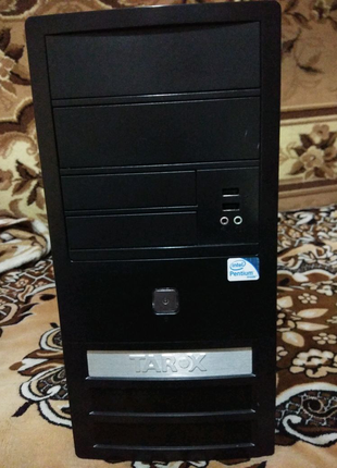 Компьютер. Системный блок. Intel DualCore 2.5GHz. 3Гб-DDR2. 250Гб