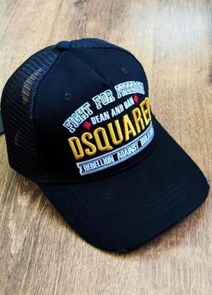 Оригинальная летняя бейсболка кепка dsquared