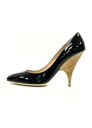 Лаковые туфли - лодочки giuseppe zanotti design оригинал