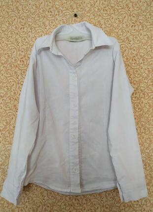 Базовая рубашка на 8-9 лет