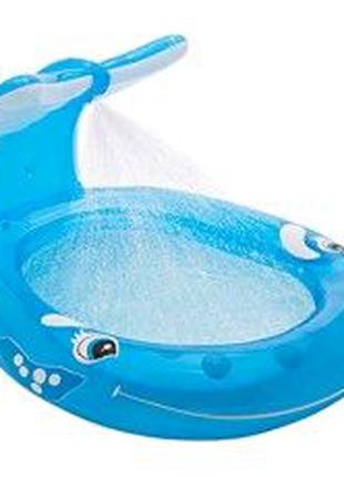 Кит🐋 надувной басейн intex
