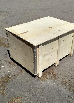 Деревянный ящик 1100х650х650, б/у, состояние отличное