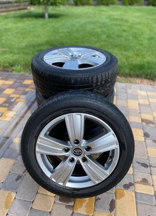 Продам колёса на летней резине 205/55 R16
