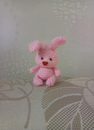Вязаная крючком игрушка Кролик амигуруми