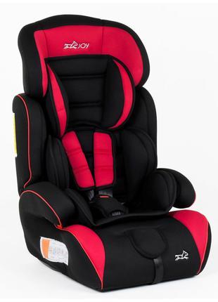 Автокресло-бустер 2060 от 9-36 кг черно-красное